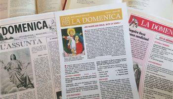 """Compie 100 anni il «foglietto» della Messa: """"La Domenica"""""""