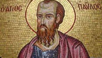 San Paolo grande Mistico, grande Apostolo delle genti